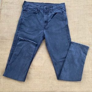 Levi 522 jeans size 32/34 in grey